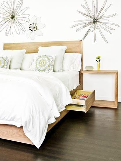 简约卧室床图片大全