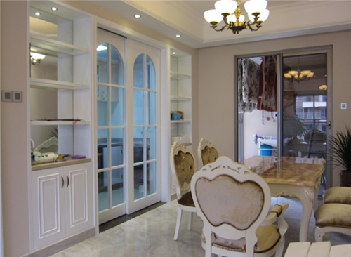 厨房门装修效果图 厨房门的搭配技巧