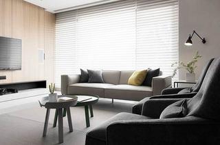 简约风格三居室布艺沙发图片