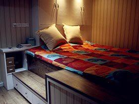 小空间有无限可能  10款卧室收纳设计图