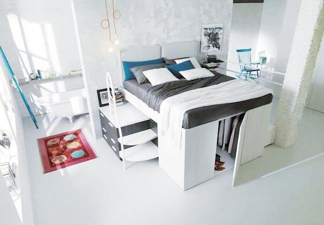 高低床装饰效果图