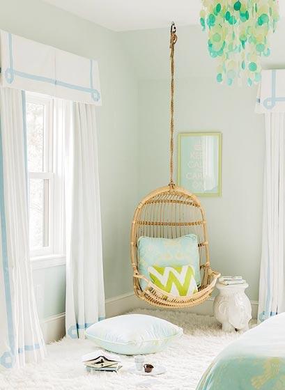 卧室吊椅设计实景图