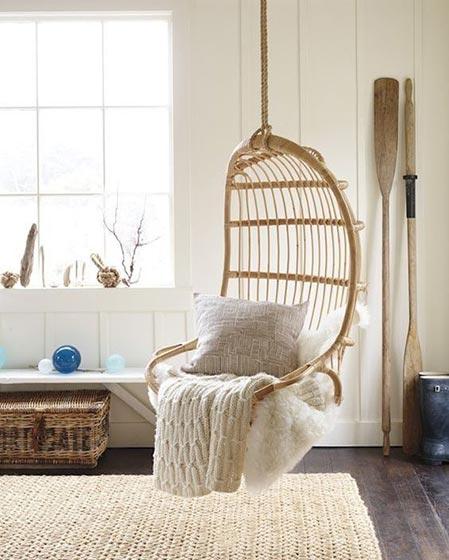 卧室吊椅设计欣赏图
