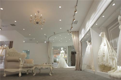 婚纱礼服馆装修效果图 婚纱礼服馆的装修风格