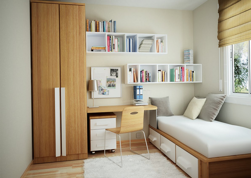 小户型卧室装修效果图 10平米小卧室个性化设计