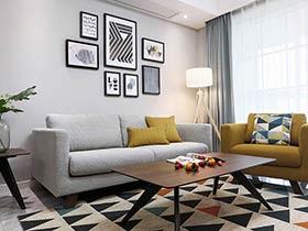 120平北欧风格装修效果图 舒适又充满灵感