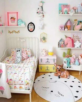 可爱儿童房女孩卧室设计