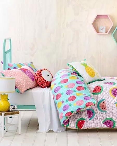 女孩卧室儿童房设计
