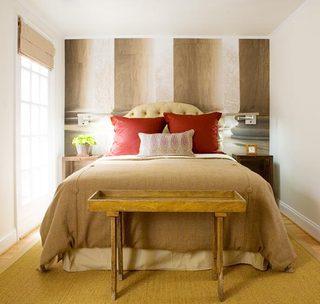 卧室搭配背景墙图片