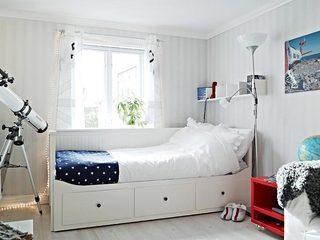 单人卧室搭配效果图