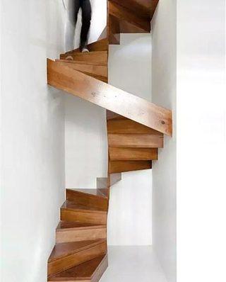 10个木质楼梯装修效果图 生活充满创意3/10