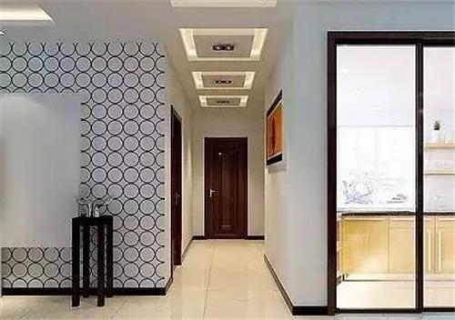进门过道装修效果图 走廊过道展示别样风景