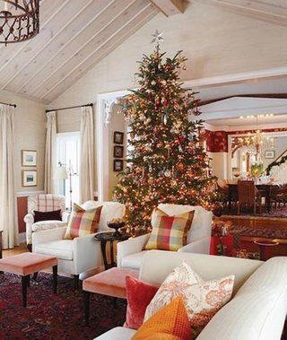 和我一起狂欢吧  10款圣诞客厅装修图片9/10
