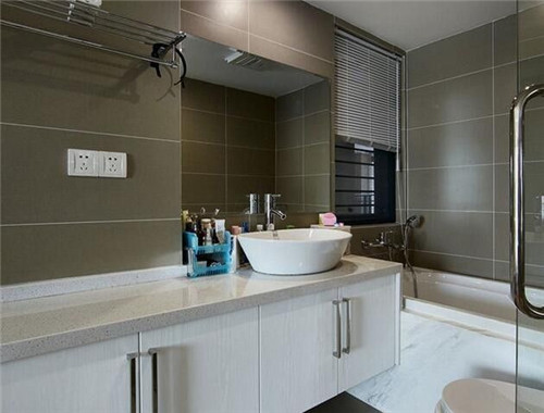 主卧卫生间装修效果图 4款唯美又舒适的卫生间设计