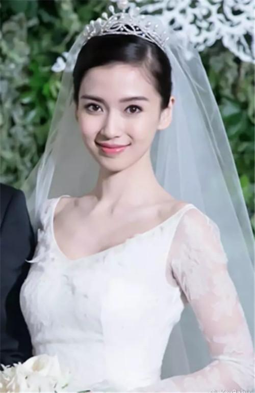 新娘头纱造型推荐 脸型和头纱搭配的技巧图片