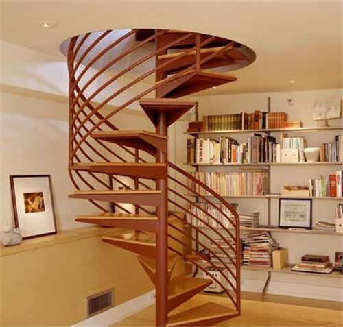 旋转楼梯装修效果图 创意旋转楼梯给你不一样的惊喜