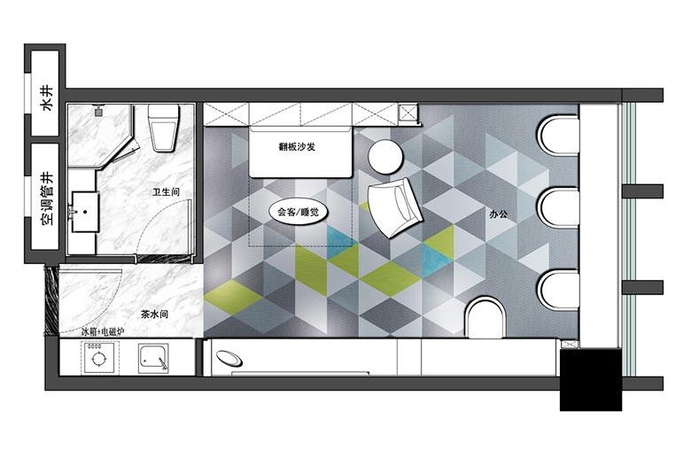 小型屋顶花园平面图 -您正在访问第10页 装修效果图案例 2018年装修