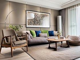 100平北欧风格两室两厅装修 让日光蔓延