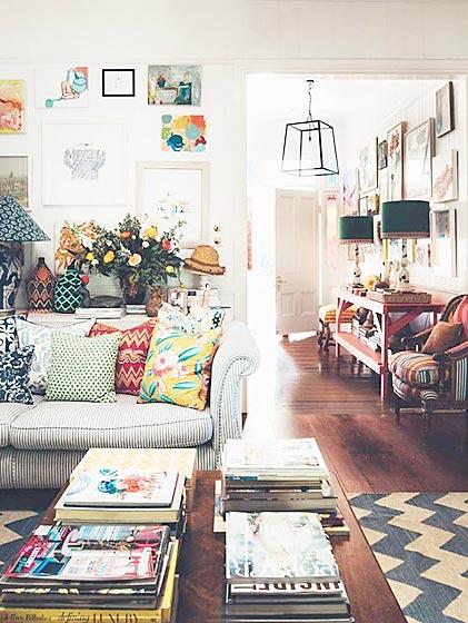 客厅色彩搭配欣赏图