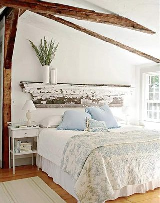 木质卧室床头设计图