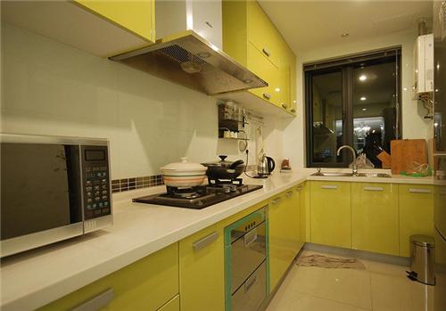 60平的房子装修效果图 5万60平米两室一厅炫彩装修
