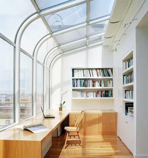 阳台改造阳光房设计平面图
