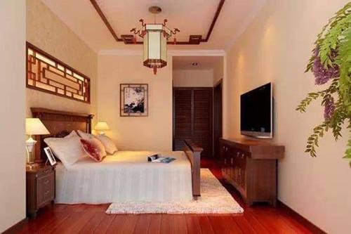 中式室内装修效果图大全 中式卧室装修听起来很诱人