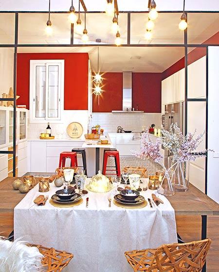 旧房改造装修餐厨一体装修