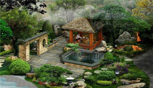 别墅庭院装修效果图欣赏 各式风格别墅庭院装修设计案例图片