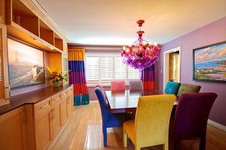 餐厅色彩搭配装修平面图