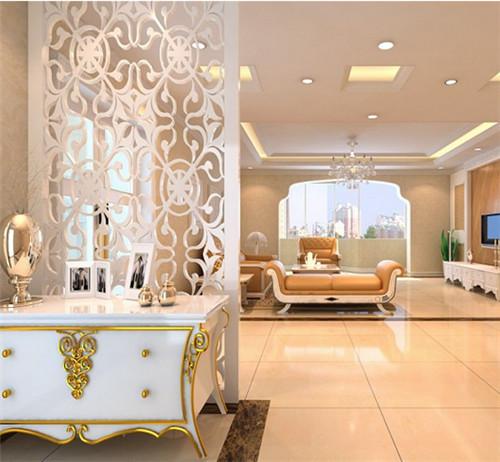 欧式古典玄关装修效果图 让您一眼就爱上的欧式古典玄关图片