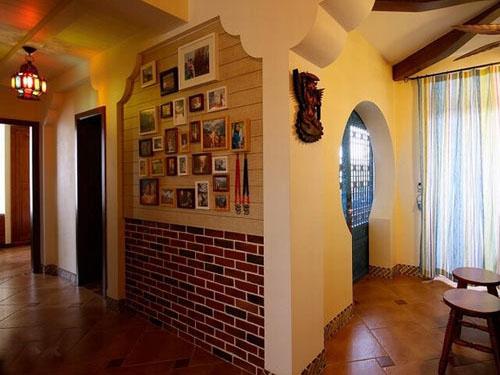 客厅墙面瓷砖效果图 这样的墙面设计你心动吗