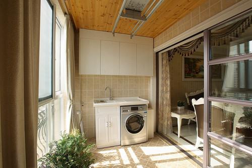 阳台墙面装修效果图 客厅阳台墙面装修告别单调