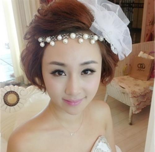 新娘编发造型图片 新娘结婚发型有哪些