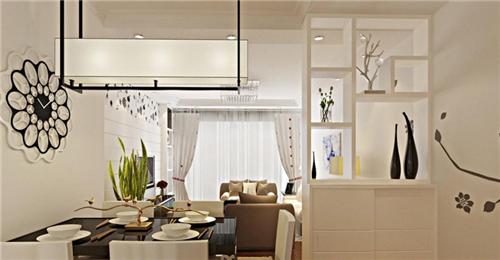 客厅餐厅隔断装修效果图欣赏 几款美观实用的客厅餐厅