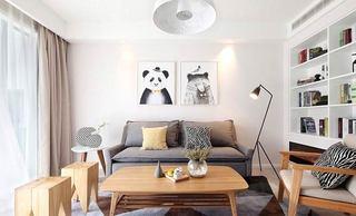 客厅双人沙发效果图设计