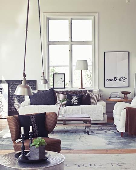 舒适客厅双人沙发图片