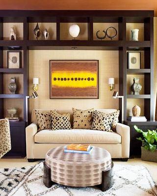 小户型客厅双人沙发图片大全