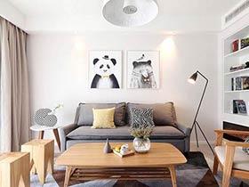 11个客厅双人沙发效果图 小户型客厅必备