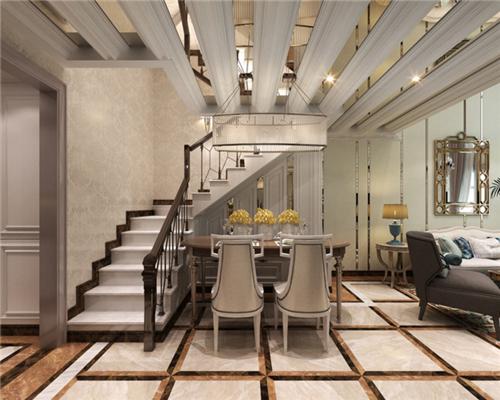 复式楼装修效果图 80平楼中楼装修设计案例分享图片