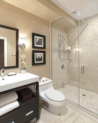 卫生间干湿分离装修设计