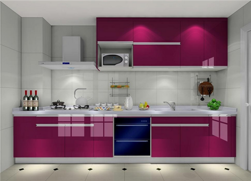 厨房装修效果图小户型一字型 小厨房装修技巧