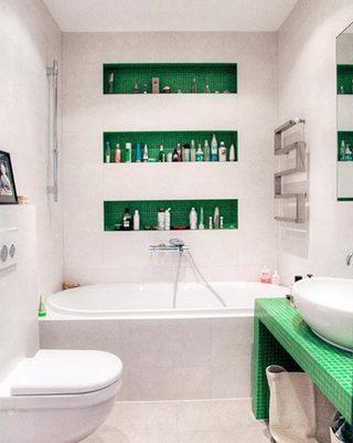 卫生间设计收纳欣赏图