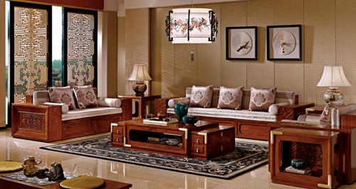 正文  新中式沙发运用了现代材质及工艺,演绎了时尚中国风,使家具不仅图片