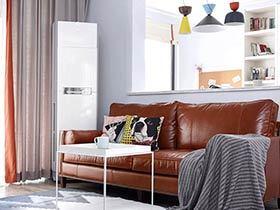 105平北欧风格三居室装修 遇见真实的幸福