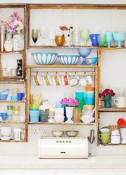 厨房收纳架设计平面图