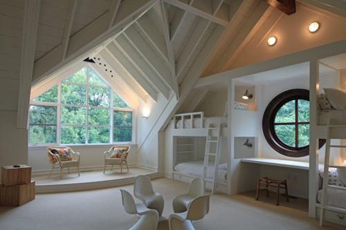 2017阁楼装修效果图 打造属于自己的空间