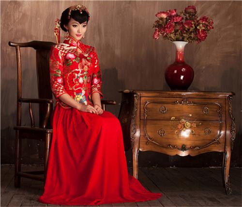 服装 婚纱 旗袍 唐装 500_428