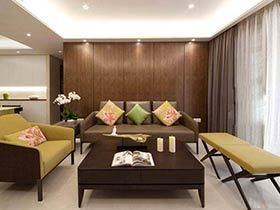 120平现代简约风格三房两厅装修 简洁干练