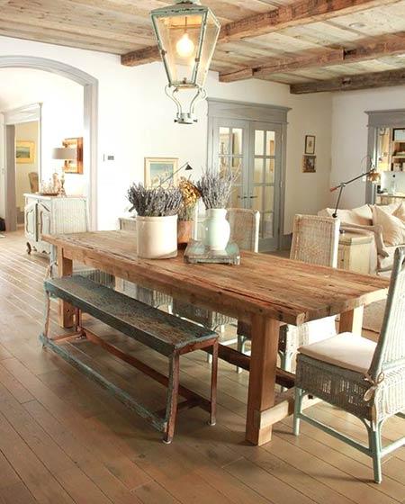 餐厅实木地板装修效果图